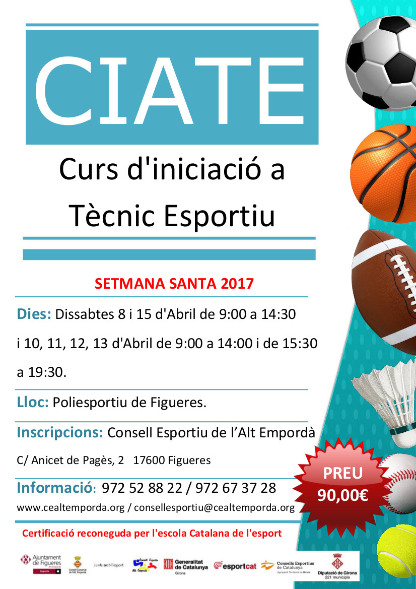Cartell Curs CIATE
